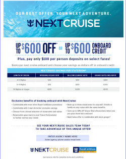NextCruise Flyer